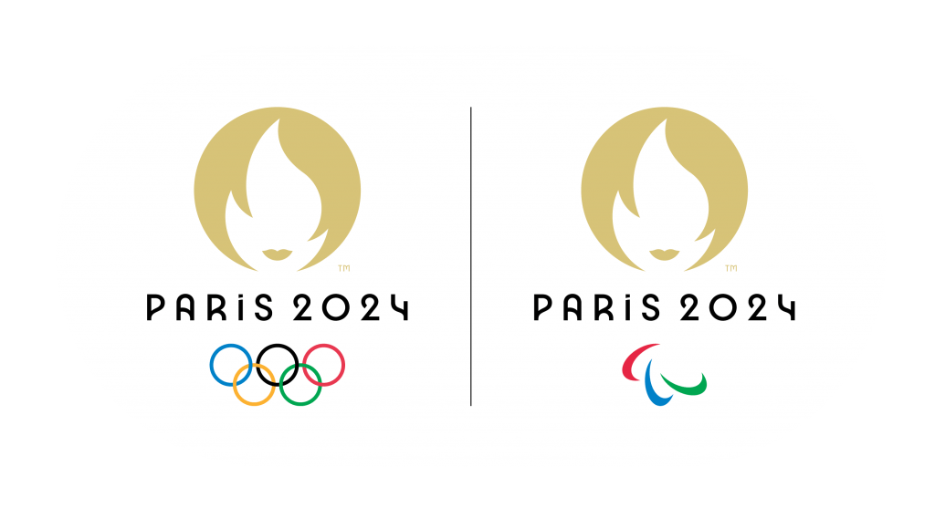 Paris 2024 Dual Logo