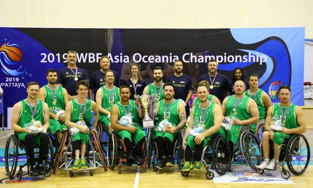 Australia Rollers retain legacy at Asia Oceania Championships