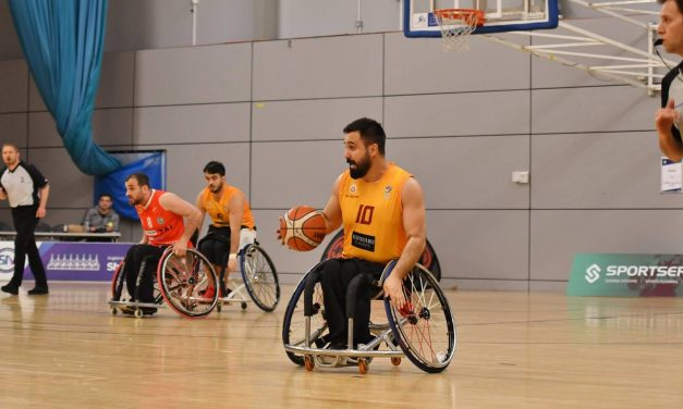 "Turkey's Ar is ""yearning for the tension and excitement"" of wheelchair basketball again"