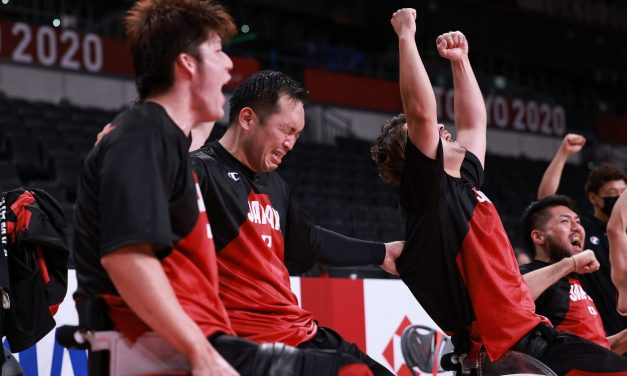Famous victory as Japan make Paralympic final