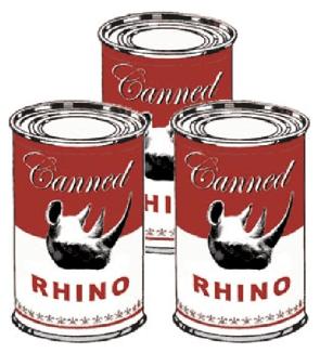 Canned Rhino