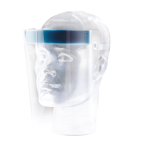 Univet 703 disposable faceshields (20 stuks)