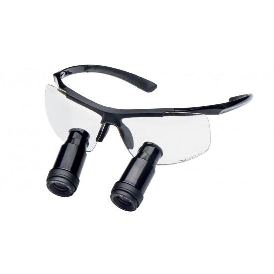 TECHNE loepbril prisma Black Edition