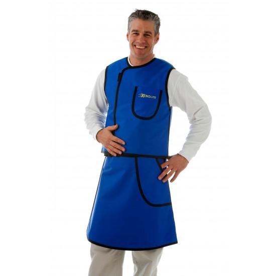 Loodschort rok met vest