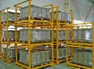Pallet stacking frames