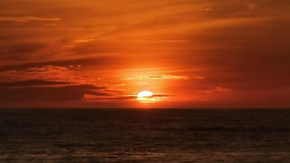 Taboc Baywalk Sunset