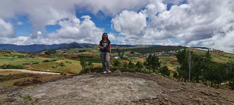The vegetable gardens of Brgy. Balilli, Mankayan, Benguet