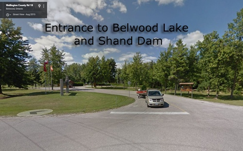 Entrance to Belwood Lake