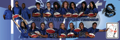 IWFL Photo Gallery: Championship Team Posters &emdash;