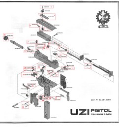 pistol exploded diagram  [ 2946 x 3000 Pixel ]