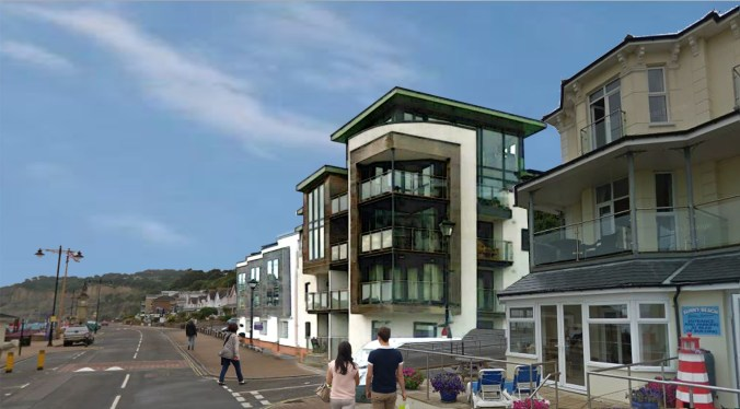 Artist Impression Spa Site Shanklin view 2