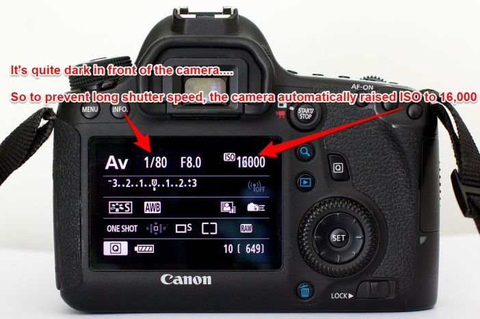 Using Auto ISO on Canon 6D