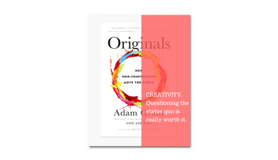 book review and summary - Originals Adam Grant