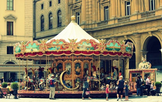Antique Carousel of the Picci Family