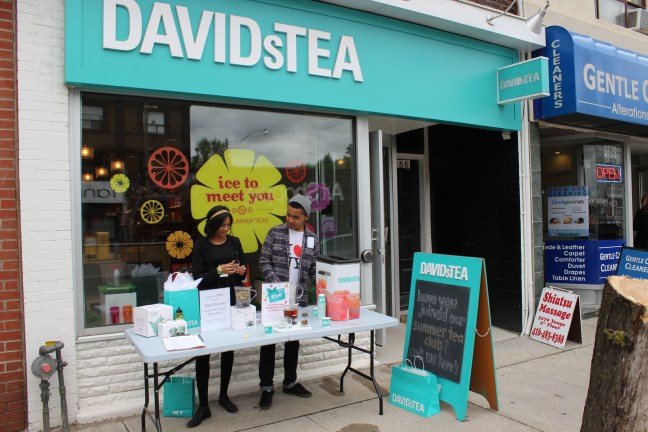 David's Tea located in the Yonge and Lawrence Village in Toronto