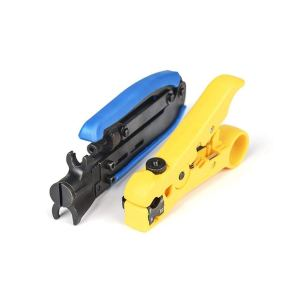 Coax Compression Crimping Tool