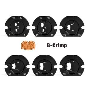 B crimp jaws for AM-70 AM-240