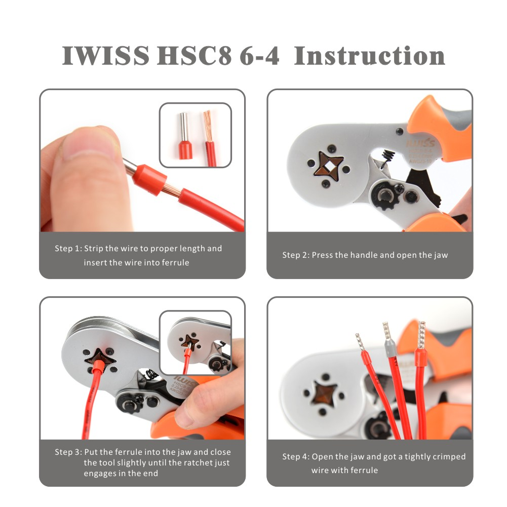 IWISS-HSC8 6-4-SELF-ADJUSTABLE-CRIMPING-TOOLS-USED-FOR-AWG23-10-END-SLEEVES-FERRULES (2)