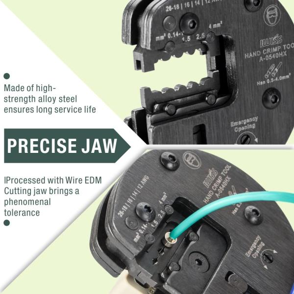 IWS-0540HX precise jaw