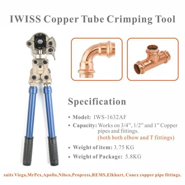 Plumbing Copper Pipe Crimper
