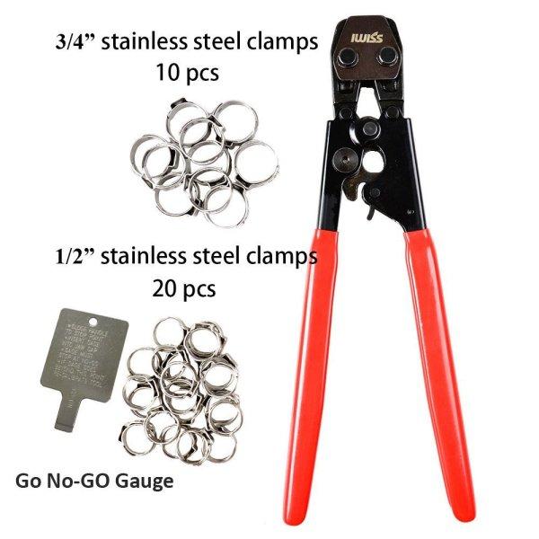KF-1096 PEX abrazadera kit de herramientas