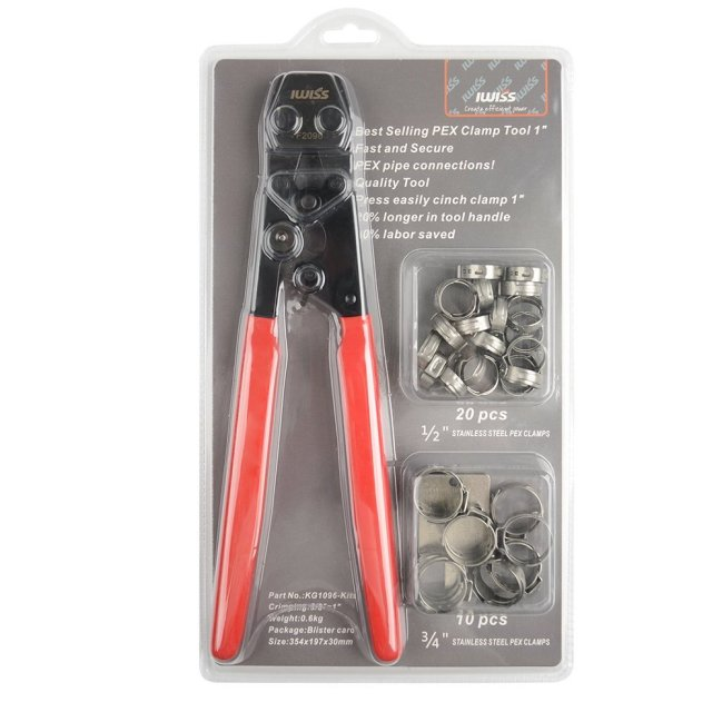 KF-1096 PEX Clamp Tool Kit