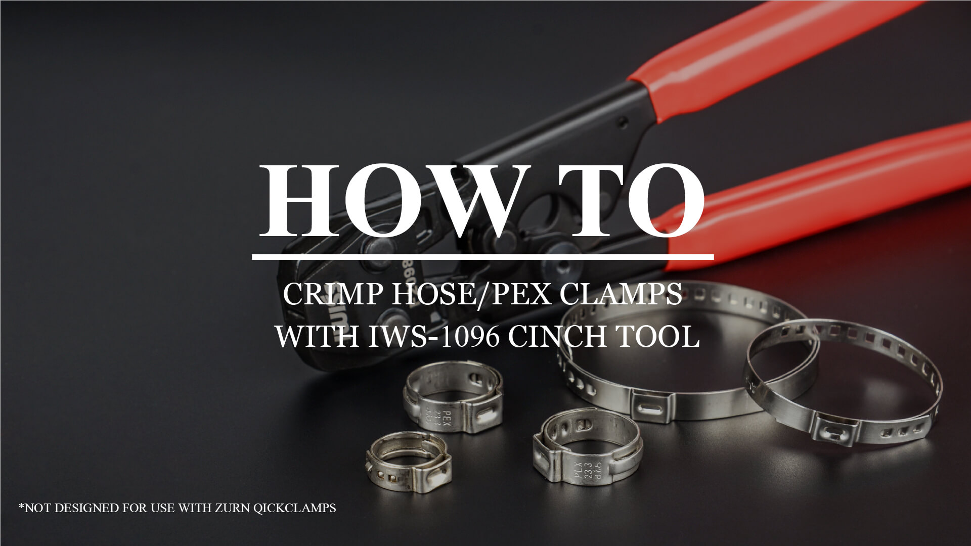 IWS 1096 CLAMP CINCH TOOL