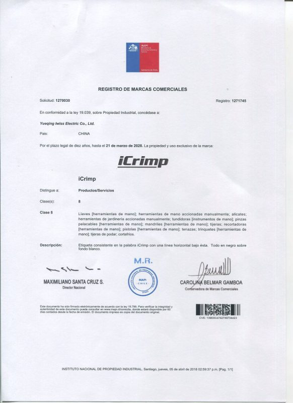 iCrimp Certification
