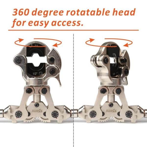 IWS-1632AF-Zoomlock 360 rotatable head