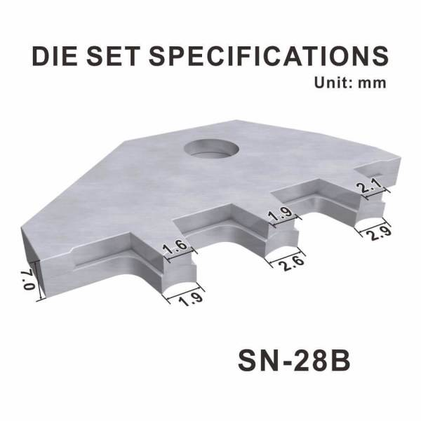 A28B customized crimping die set