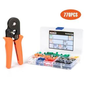HSC8 6-4-KIT with 770pcs ferrules