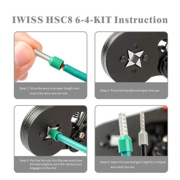 HSC8 6-4-KIT instruction