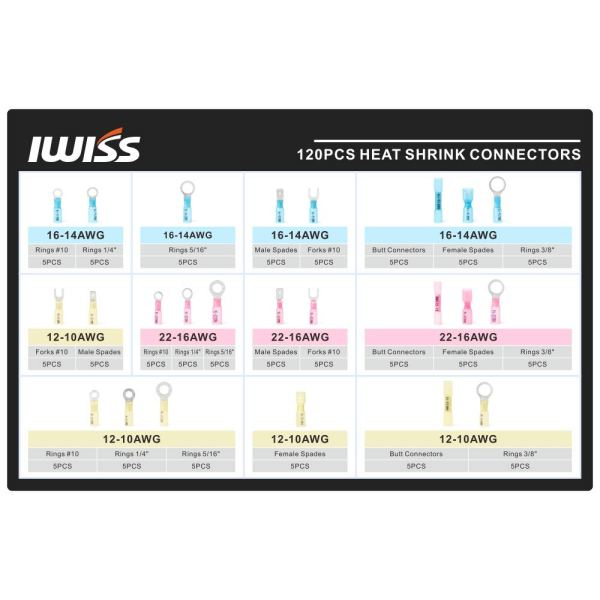 IWISS 285pcs IWS-2210H-KIT
