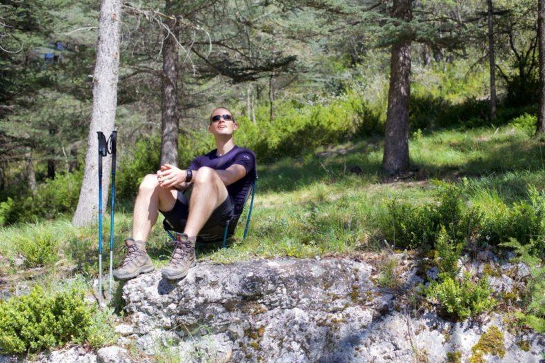 Na inspanning komt ontspanning Outdoor stoeltjes getest