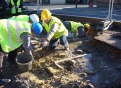 Digging in Newport ©