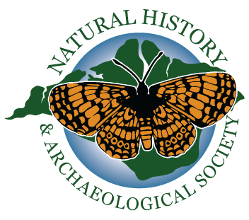 The logo of the The Isle of Wight Natural History & Archaeological Society