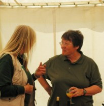 At the Newtown Exhibition, in 2008.