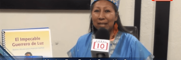 Peace Mother interviewed on Promovision 10 News in Merida, Yucatan