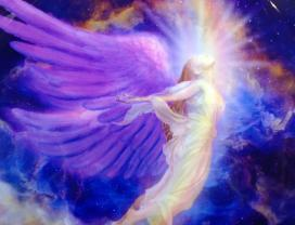 Radiant colors, Angel in the Cosmos (1), Balanced Life