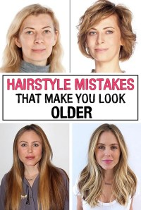 11 hairstyles to make you look younger hair cuts to look ...