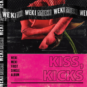 wekimeki, kisskicks, kiss, kicks, crush, cd, album, iwonchuu, kpop, nederland