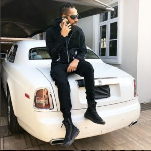 Phyno Shows Off His New Rolls Royce Phantom