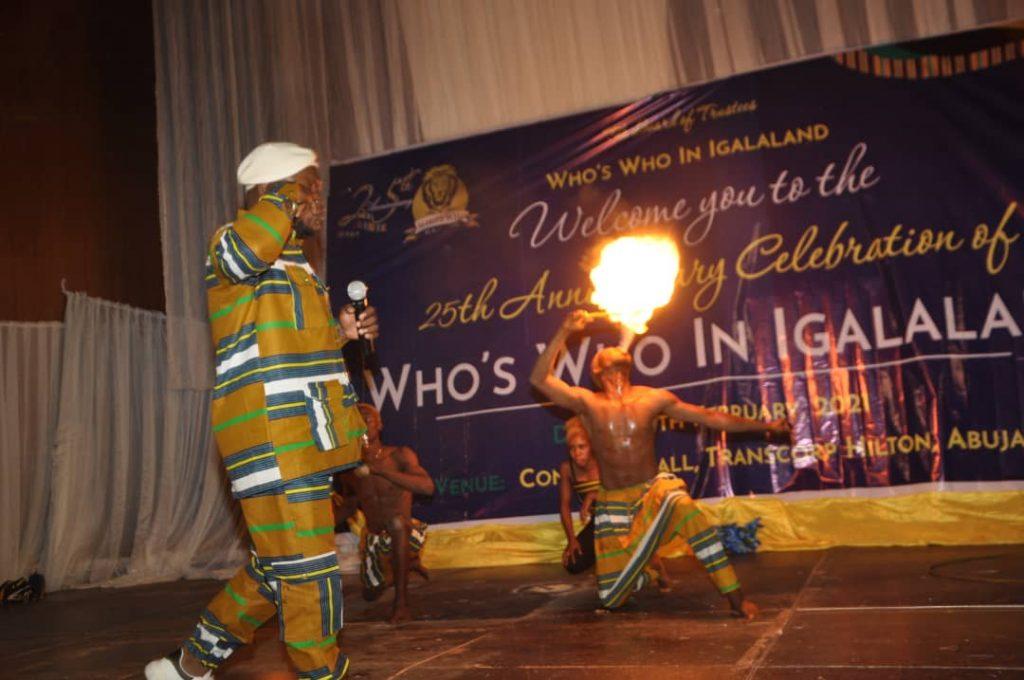 Baba Ojonugwa J.F.O burns down Transcorp Hilton Abuja.