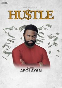 Hustle Movie Gabriel Afolayan Character Poster @mayodesigns