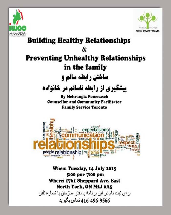Building Healthy Relationship