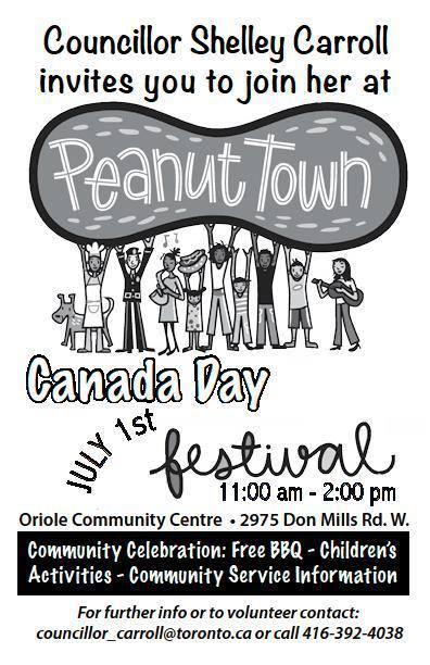 Canada Day with Councillor Shelley Carroll