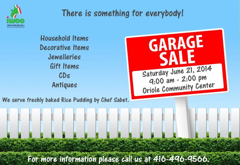 Garage Sale 2014