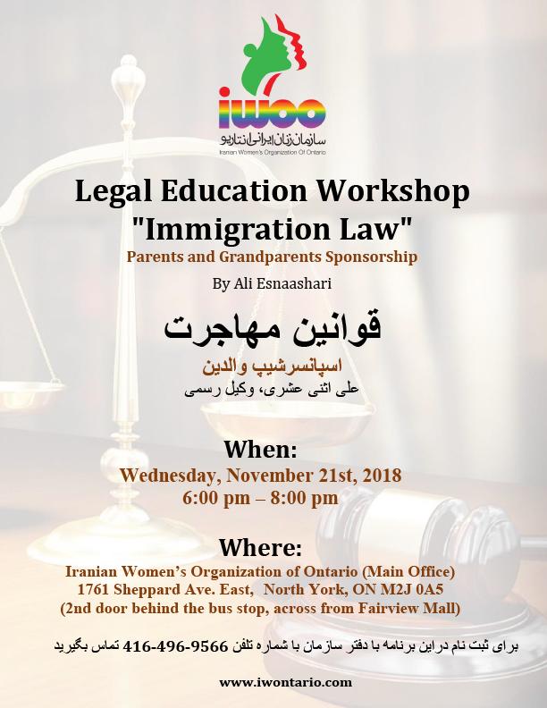 Immigration Law- Parents & Grandparents Sponsorship