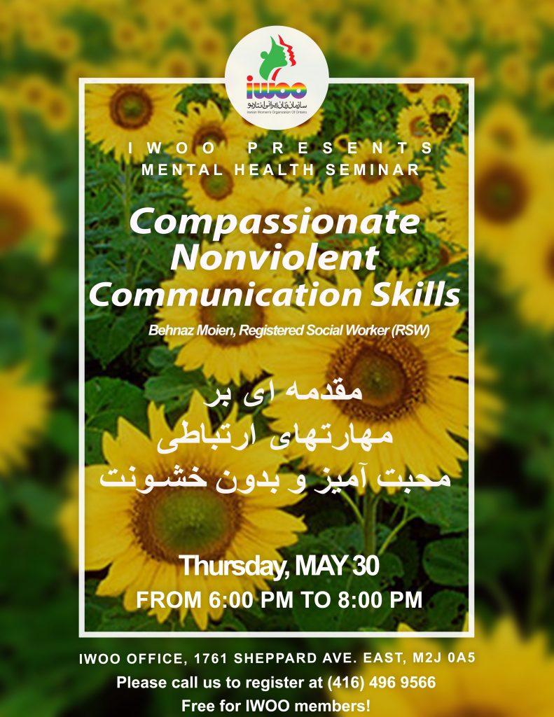 Compassionate Nonviolent Communication Skills