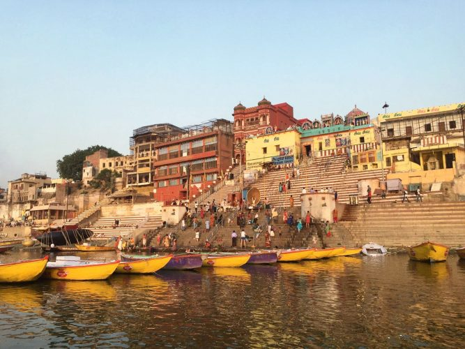 Bathing-in-Varanasi